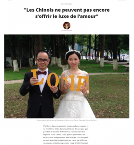 China Love, comment les Chinois s'aiment, Dorian Malovic