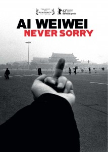 Affiche du documentaire Ai Weiwei Never sorry